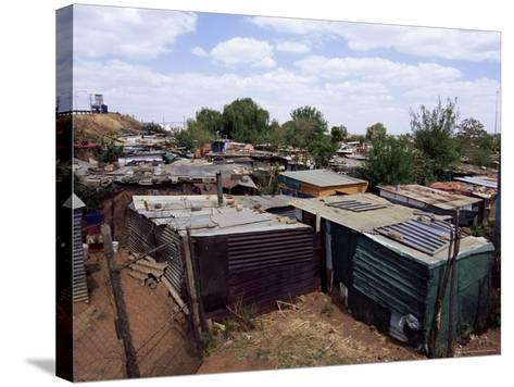 Shacks, Soweto, Johannesburg, South Africa, Africa-Sergio Pitamitz-Stretched Canvas Print