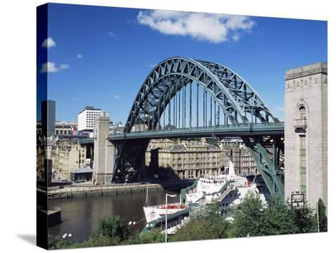 The Tyne Bridge, Newcastle (Newcastle-Upon-Tyne), Tyne and Wear, England, United Kingdom, Europe-James Emmerson-Stretched Canvas Print