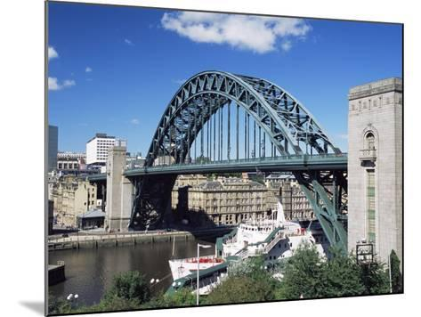The Tyne Bridge, Newcastle (Newcastle-Upon-Tyne), Tyne and Wear, England, United Kingdom, Europe-James Emmerson-Mounted Photographic Print