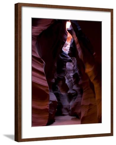 Antelope Canyon, Upper Canyon, Slot Canyon, Arizona, USA-Thorsten Milse-Framed Art Print