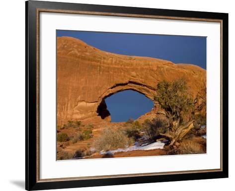 North Window, Arches National Park, Utah, Moab, USA-Thorsten Milse-Framed Art Print