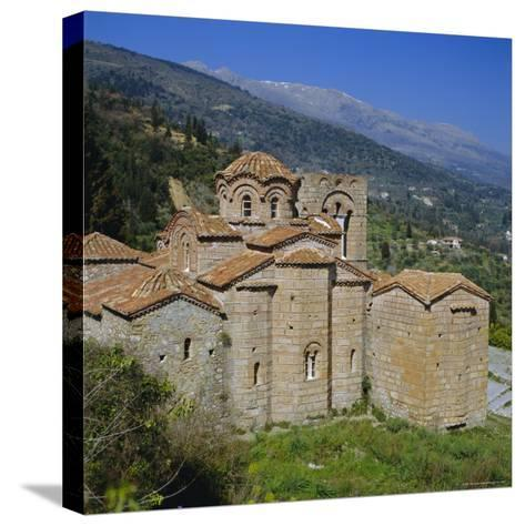 The Church of St. Sophia, Mistras, Greece, Europe-Tony Gervis-Stretched Canvas Print