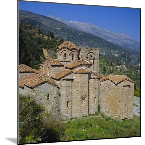 The Church of St. Sophia, Mistras, Greece, Europe-Tony Gervis-Mounted Photographic Print