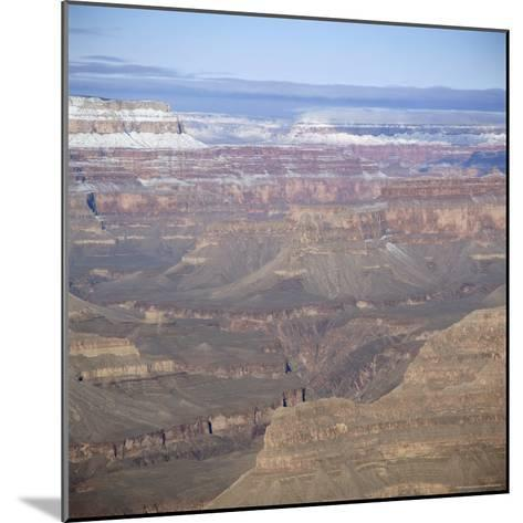 The Grand Canyon in Winter, Unesco World Heritage Site, Arizona, USA-Tony Gervis-Mounted Photographic Print