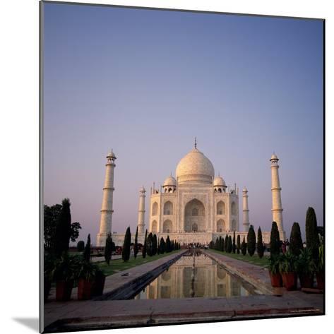 The Taj Mahal at Dawn, Agra, Uttar Pradesh, India-Tony Gervis-Mounted Photographic Print