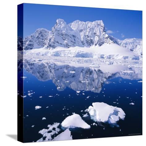 West Coast of Antarctic Peninsula, Antarctica-Geoff Renner-Stretched Canvas Print