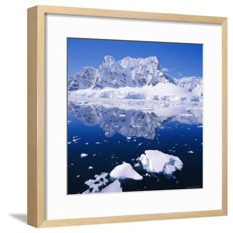 West Coast of Antarctic Peninsula, Antarctica-Geoff Renner-Framed Art Print