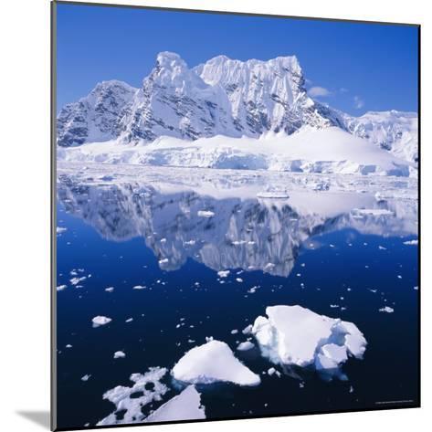 West Coast of Antarctic Peninsula, Antarctica-Geoff Renner-Mounted Photographic Print