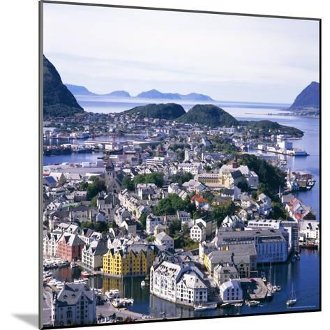 View Over Alesund, More Og Romsdal, Norway, Scandinavia, Europe-Geoff Renner-Mounted Photographic Print