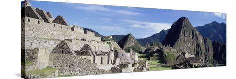 Ruins of Inca City, Machu Picchu, Unesco World Heritage Site, Urubamba Province, Peru-Gavin Hellier-Stretched Canvas Print