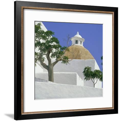 Church of Our Lady of Jesus, Santa Eulalia, Balearic Islands, Spain, Europe-G Richardson-Framed Art Print