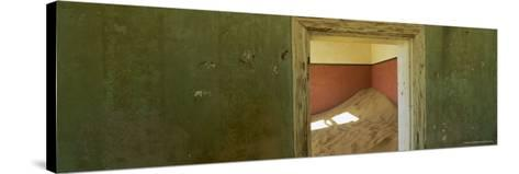 Interior of German House in the Deserted Mining Town of Kolmanskop-Lee Frost-Stretched Canvas Print