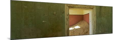 Interior of German House in the Deserted Mining Town of Kolmanskop-Lee Frost-Mounted Photographic Print