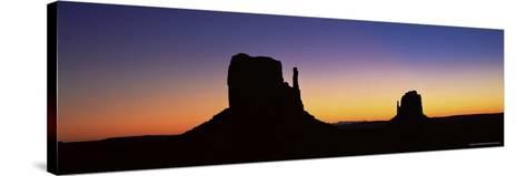 The Mittens, Monument Valley, Utah, United States of America (U.S.A.), North America-Lee Frost-Stretched Canvas Print