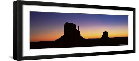 The Mittens, Monument Valley, Utah, United States of America (U.S.A.), North America-Lee Frost-Framed Art Print