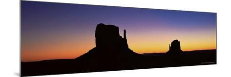 The Mittens, Monument Valley, Utah, United States of America (U.S.A.), North America-Lee Frost-Mounted Photographic Print