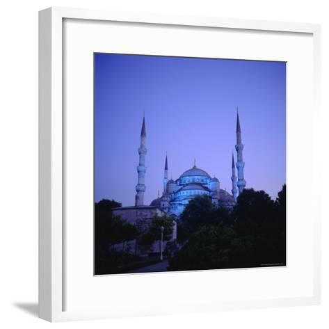 Sultan Ahmet Mosque (Blue Mosque) 1609-1616, Istanbul Turkey, Eurasia-Christopher Rennie-Framed Art Print