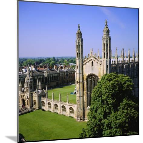 King's College Chapel, Cambridge, Cambridgeshire, England, UK-Roy Rainford-Mounted Photographic Print