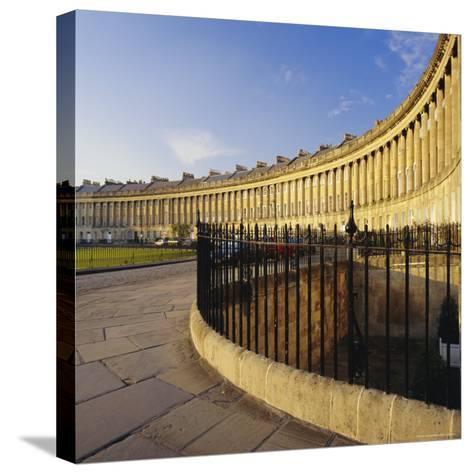 The Royal Crescent, Bath, Avon & Somerset, England-Roy Rainford-Stretched Canvas Print
