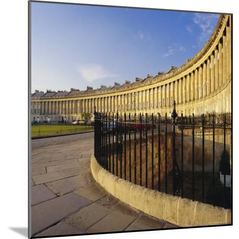 The Royal Crescent, Bath, Avon & Somerset, England-Roy Rainford-Mounted Photographic Print