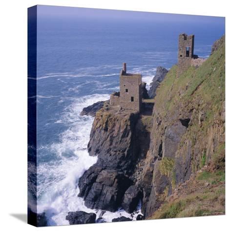 Botallack Tin Mines, Cornwall, England-Roy Rainford-Stretched Canvas Print