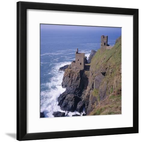 Botallack Tin Mines, Cornwall, England-Roy Rainford-Framed Art Print