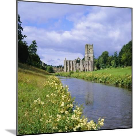 Fountains Abbey, North Yorkshire, England, UK, Europe-Roy Rainford-Mounted Photographic Print