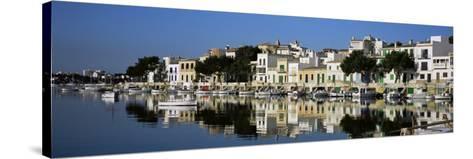Porto Colom Harbour, Majorca, Spain-John Miller-Stretched Canvas Print
