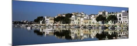 Porto Colom Harbour, Majorca, Spain-John Miller-Mounted Photographic Print