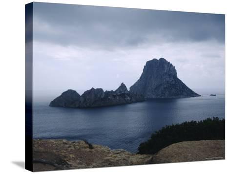 The Island of Vedra off the Coast of Ibiza, Balearic Islands, Spain-Tom Teegan-Stretched Canvas Print