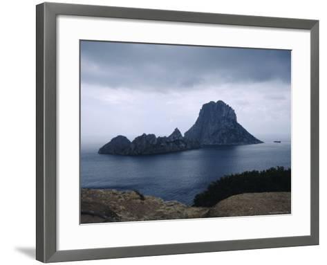 The Island of Vedra off the Coast of Ibiza, Balearic Islands, Spain-Tom Teegan-Framed Art Print