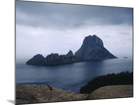 The Island of Vedra off the Coast of Ibiza, Balearic Islands, Spain-Tom Teegan-Mounted Photographic Print