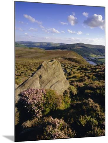 Whinstone Lee Tor and Derwent Moors, Derwent Edge, Peak District National Park, Derbyshire, England-Neale Clarke-Mounted Photographic Print