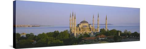 The Blue Mosque (Sultan Ahmet Mosque), Istanbul, Turkey, Europe-Simon Harris-Stretched Canvas Print