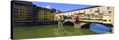 Ponte Vecchio, Florence, Tuscany, Italy-Bruno Morandi-Stretched Canvas Print