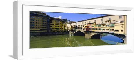 Ponte Vecchio, Florence, Tuscany, Italy-Bruno Morandi-Framed Art Print