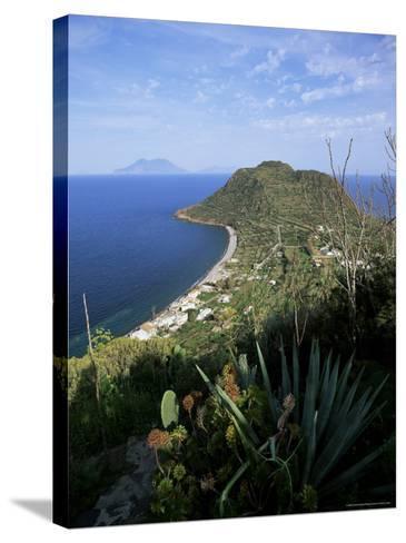 Island of Filicudi, Aeolian Islands, Unesco World Heritage Site, Italy-Oliviero Olivieri-Stretched Canvas Print