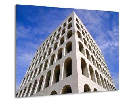 Palazzo Della Civilta Di Lavoro, Eur, Lazio, Italy-Oliviero Olivieri-Metal Print