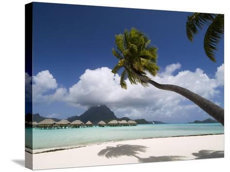 Pearl Beach Resort, Bora-Bora, Leeward Group, Society Islands, French Polynesia-Sergio Pitamitz-Stretched Canvas Print