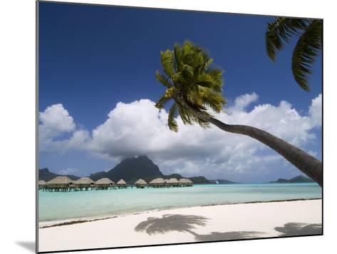 Pearl Beach Resort, Bora-Bora, Leeward Group, Society Islands, French Polynesia-Sergio Pitamitz-Mounted Photographic Print