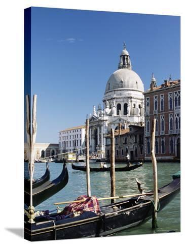 Church of Santa Maria Salute and Grand Canal, Unesco World Heritage Site, Venice, Veneto, Italy-James Emmerson-Stretched Canvas Print