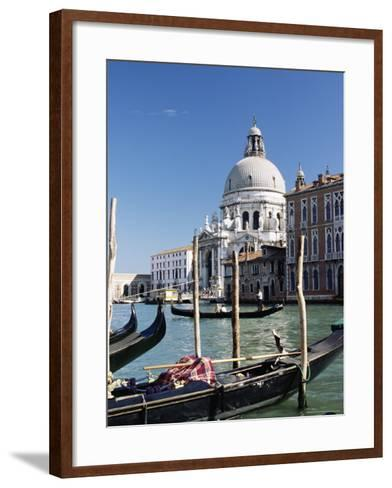 Church of Santa Maria Salute and Grand Canal, Unesco World Heritage Site, Venice, Veneto, Italy-James Emmerson-Framed Art Print