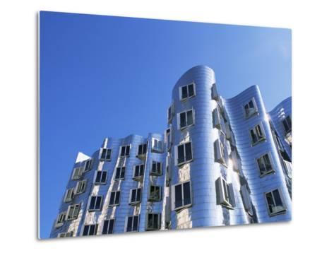 The Neuer Zollhof Building by Frank Gehry, Nord Rhine-Westphalia, Germany-Yadid Levy-Metal Print