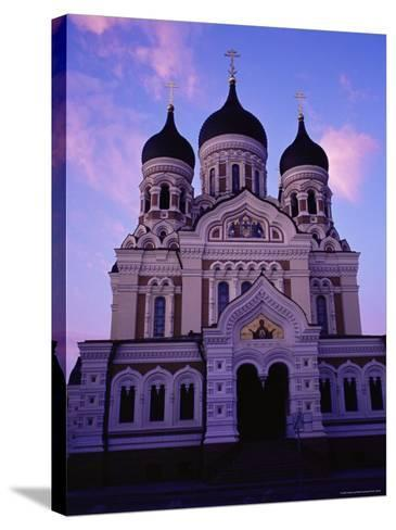 The Russian Orthodox Alexander Nevsky Cathedral in Toompea, Estonia, Baltic States-Yadid Levy-Stretched Canvas Print