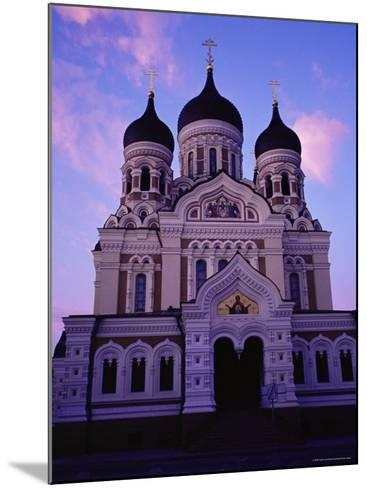 The Russian Orthodox Alexander Nevsky Cathedral in Toompea, Estonia, Baltic States-Yadid Levy-Mounted Photographic Print
