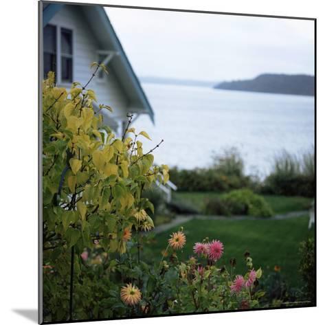 View of Puget Sound, Vashon Island, Washington State, USA-Aaron McCoy-Mounted Photographic Print