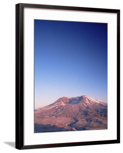 Mount St. Helens, Mount St. Helens National Volcanic Monument, Washington State-Colin Brynn-Framed Art Print