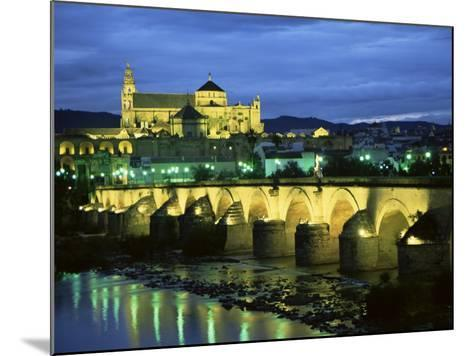 Mezquita (Cathedral) and Puente Romano (Roman Bridge), Cordoba, Andalucia (Andalusia), Spain-Colin Brynn-Mounted Photographic Print