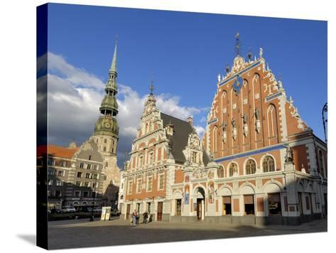 House of the Blackheads, Town Hall Square, Riga, Latvia, Baltic States-Gary Cook-Stretched Canvas Print