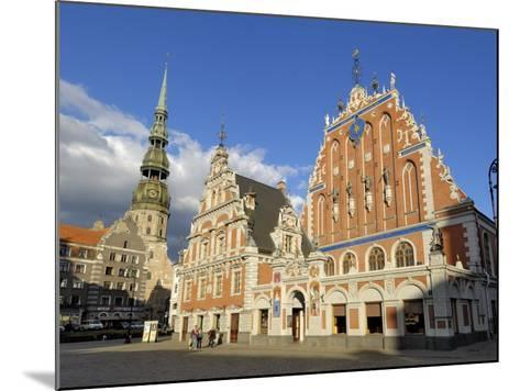House of the Blackheads, Town Hall Square, Riga, Latvia, Baltic States-Gary Cook-Mounted Photographic Print